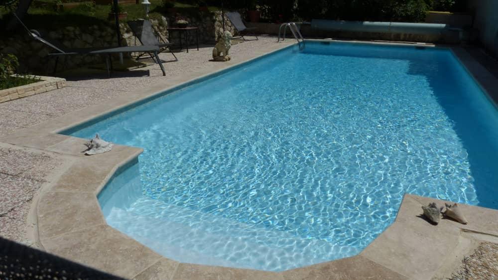 Rénovation piscine béton Cassis 13
